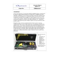 Metrohm LLT High Voltage Live Line Testers - Datasheet