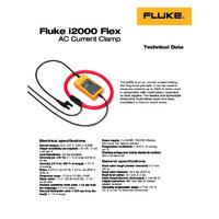 Fluke i2000 Flexible Current Clamp - Datasheet