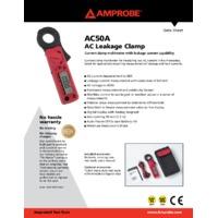 Amprobe AC50A Leakage Clamp Meter - Datasheet