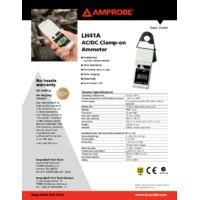 Amprobe LH41A Leakage Clamp Meter - Datasheet