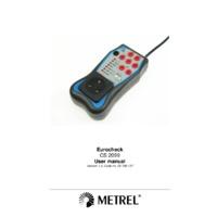 Metrel CS2099 Eurocheck Checkbox - User Manual