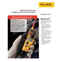 Fluke T90 Voltage & Continuity Tester - Datasheet