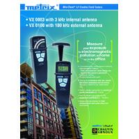 Chauvin Arnoux VX0100 BioTest LF Electrical Field Tester - Datasheet