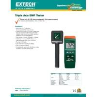 Extech 480826 Triple Axis EMF Tester - Datasheet