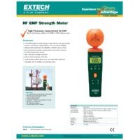 Extech 480836 RF EMF Strength Meter - Datasheet