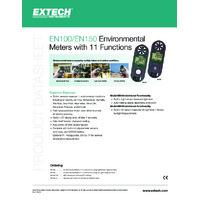 Extech EN100 11-Function Environmental Meter - Datasheet