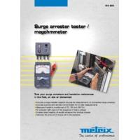 Chauvin Arnoux MX604 Surge Arrester and Insulation Tester - Datasheet