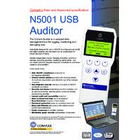 Comark N5001USB HACCP Auditor Instrument - Datasheet