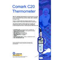 Comark C20 Food Thermometer - Datasheet
