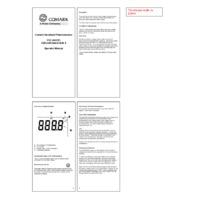 Comark C12 HACCP Thermometer - Datasheet