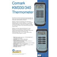 Comark KM330 Type K Thermocouple Thermometer - Datasheet