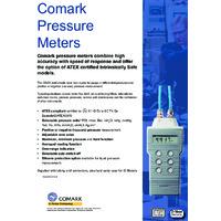 Comark Pressure Meter Brochure