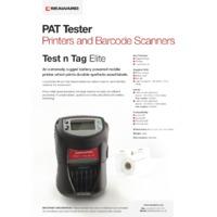 Seaward Test N Tag Pro Printer - Datasheet