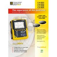 Chauvin Arnoux CA8336 Qualistar Plus Power Analyser - Datasheet