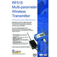 Comark RF515 Multi-Parameter Wireless Transmitter - Datasheet
