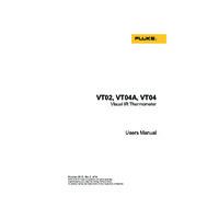 Fluke VT04A Visual IR Thermometer - User Manual