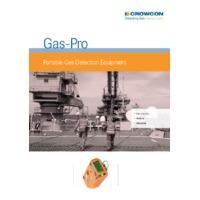 Crowcon GasPro Gas Detector - Datasheet