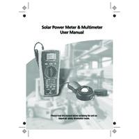 DiLog SL102 Advanced Irradiance Meter - User Manual