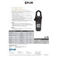 FLIR CM83 Power Clamp Meter - Datasheet