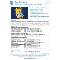 Time Electronics 5080 Calibrator - Datasheet