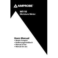 Amprobe MT-10 Moisture Meter - User Manual