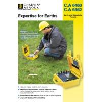 Chauvin Arnoux CA6460 Earth & Resistivity Tester - Datasheet