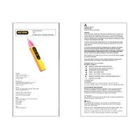 Martindale VT7 Single Pole Voltage Indicator - User Manual