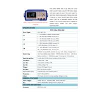 Applent AT851 Aging Battery Tester - Datasheet