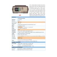 Applent AT516DC Resistance Meter - Datasheet