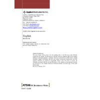 Applent AT516 DC Resistance Meter - User Manual