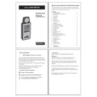 Martindale LM82 Light Meter - User Manual