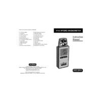 Martindale AV85 Hygro-Anemometer - Instruction Manual