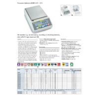 Kern 572 Precision Balance - Brochure
