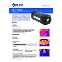FLIR A315 Thermal Camera - Brochure