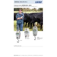 Kern HCN Stainless Steel Hanging Scales - Datasheet