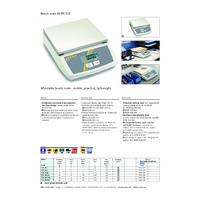 Kern FCE-N Portable Bench Scales - Datasheet