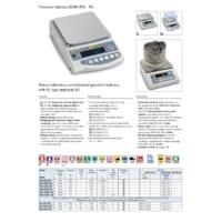 Kern PEJ Precision Balance - Datasheet