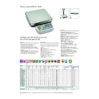 Kern DS Laboratory Balance - Datasheet