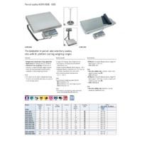 Kern EOB Parcel Scales - Datasheet