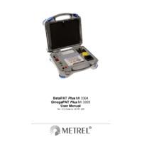 Metrel OmegaPAT PAT Tester - User Manual