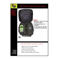 TPI 505L Tachometer - Datasheet