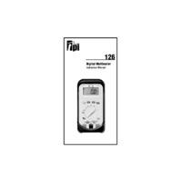 TPI 126 Digital Multimeter - Instruction Manual