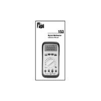 TPI 153 Autoranging Digital Multimeter - User Manual