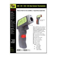 TPI 380 Series Infrared Thermometer - Datasheet