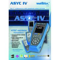 Chauvin Arnoux MTX3290 Metrix Digital Multimeter - Datasheet