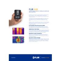 FLIR AX8 Temperature Sensor - Datasheet