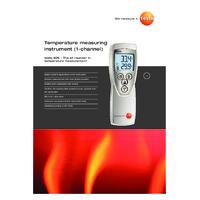 Testo 926 Thermometer - Datasheet