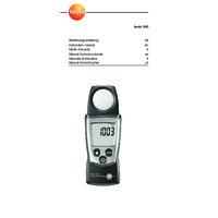 Testo 540 Pocket Light Meter - User Manual