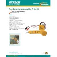 Extech 40180 Tone Generator and Amplifier Probe Kit - Datasheet