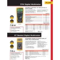 Fluke 77 IV Digital Multimeter - Datasheet